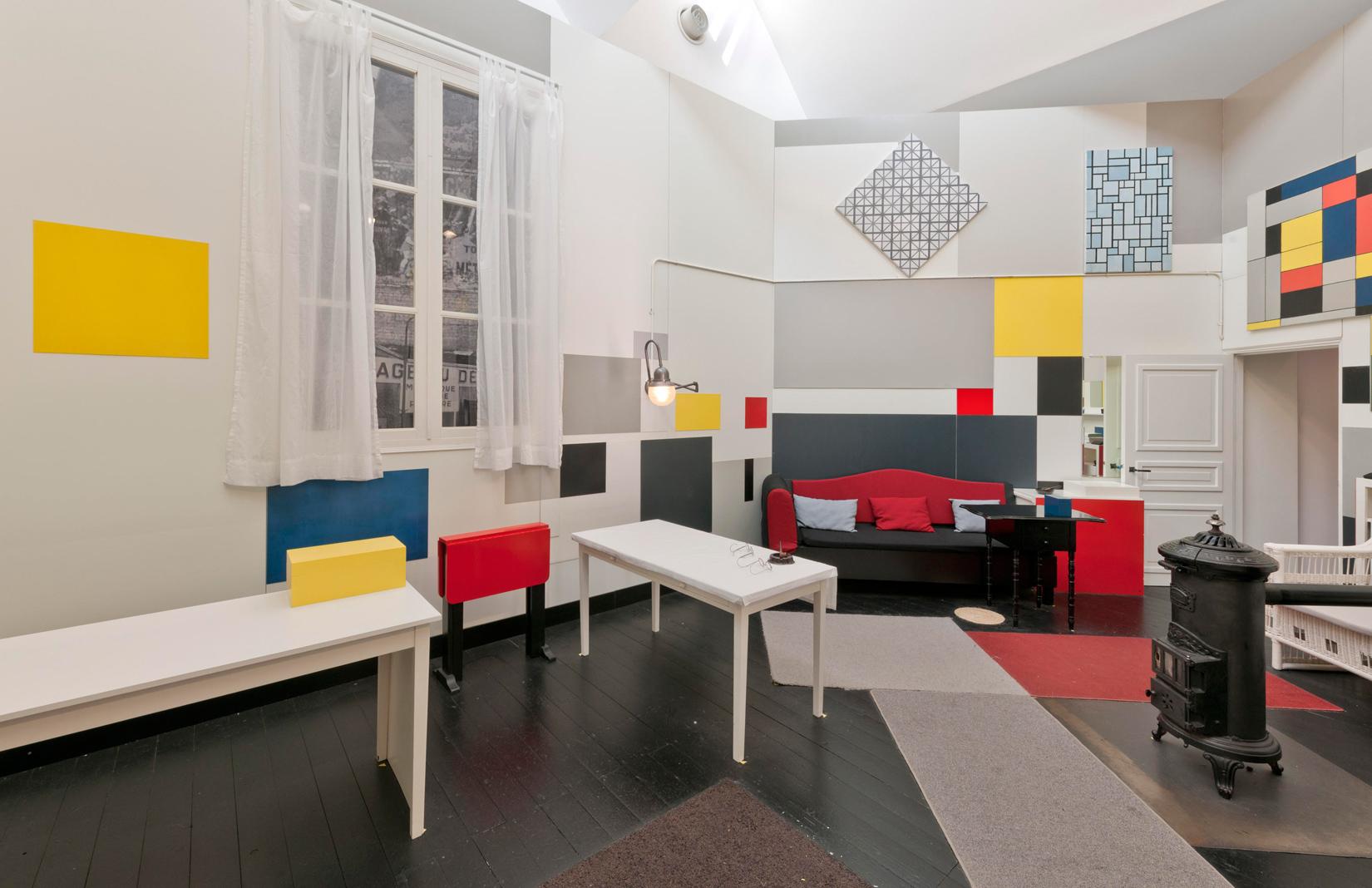 Piet Mondrian's studio recreated at Tate Liverpool