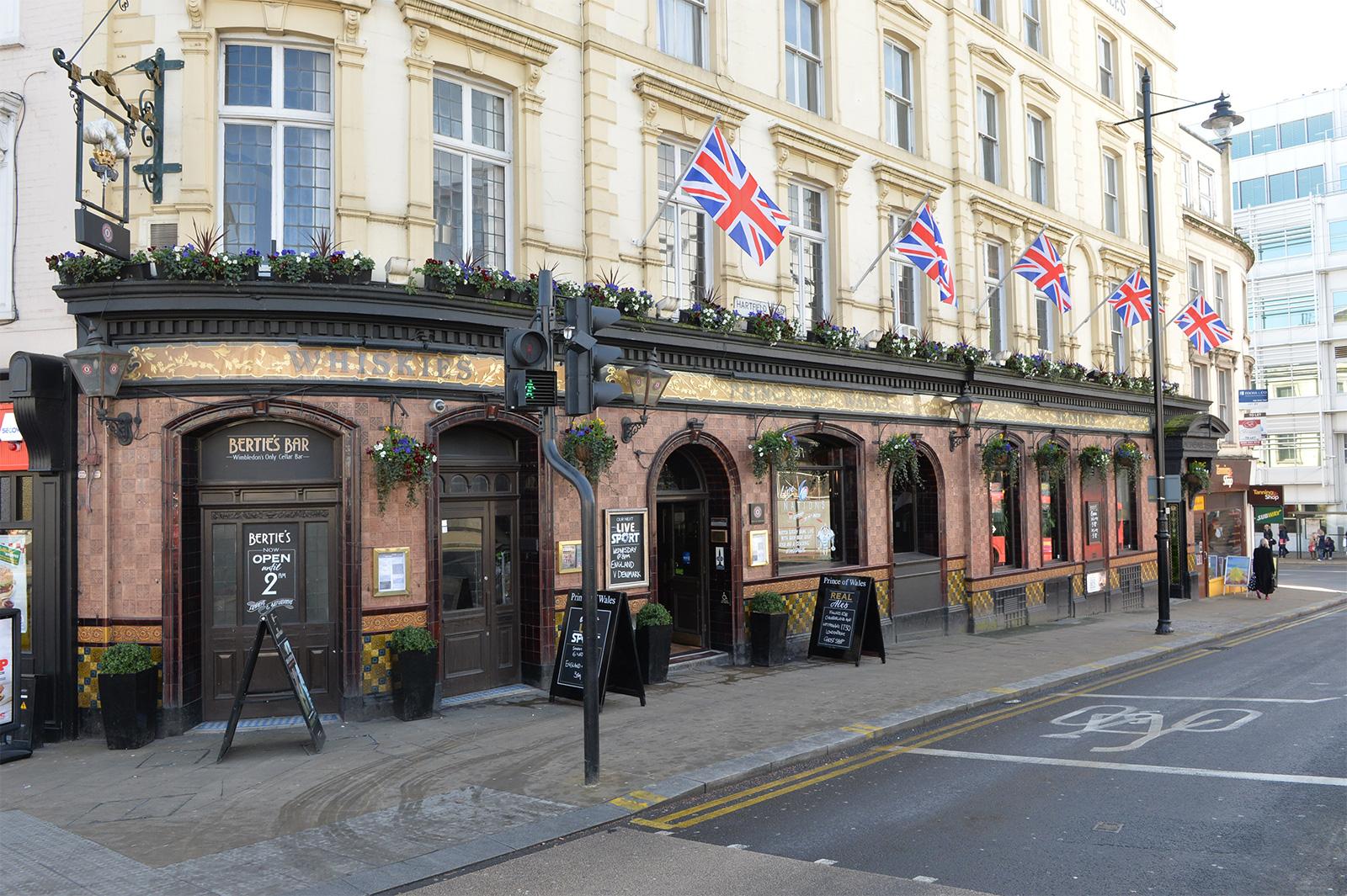 Wimbledon's Prince of Wales pub