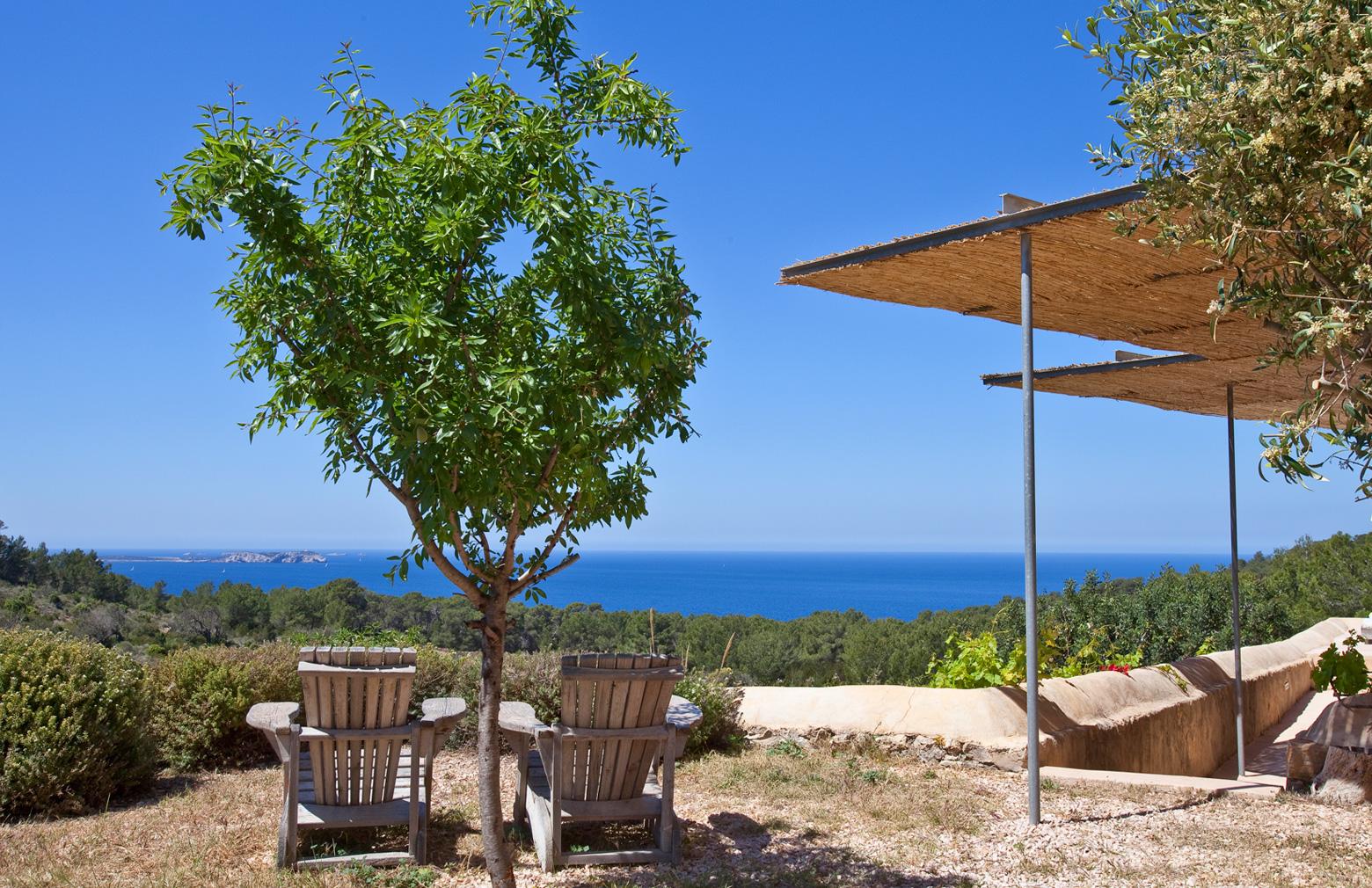 View from Ibiza Villa