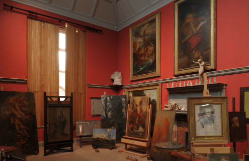 Victorian artist George Frederic Watts' studio opens to the public