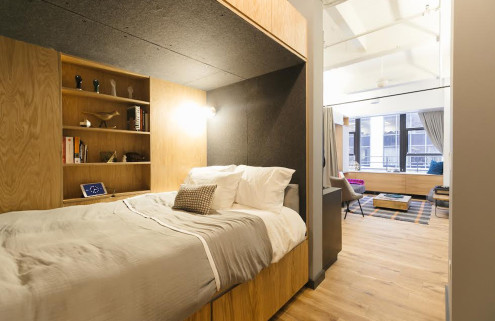 WeWork experiments with co-living in New York