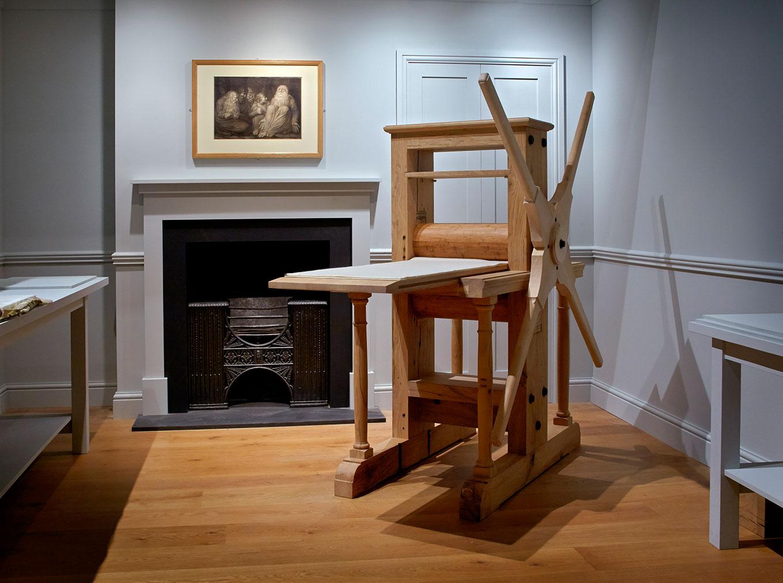 William Blake's studio at the Ashmolean in Oxford