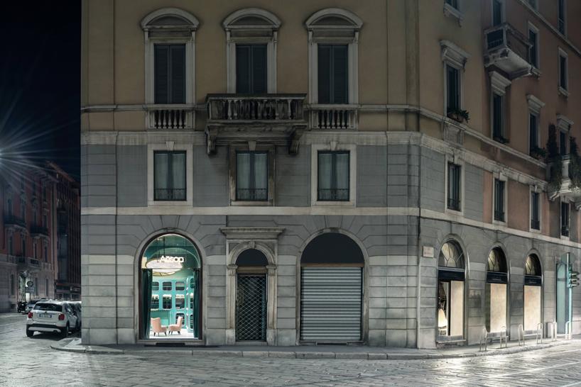 Milan Aesop store by Dimore Studio