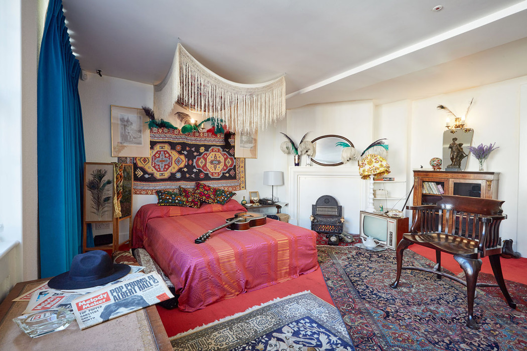 Jimi hendrix s london flat opens to the public spaces