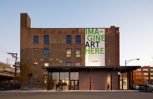 Wheeler Kearns Architects turn a Chicago warehouse into a youth arts campus