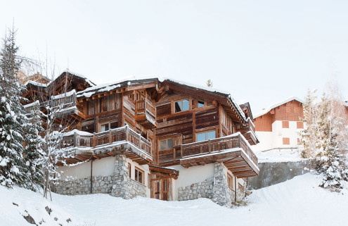 On the market: alpine chalets