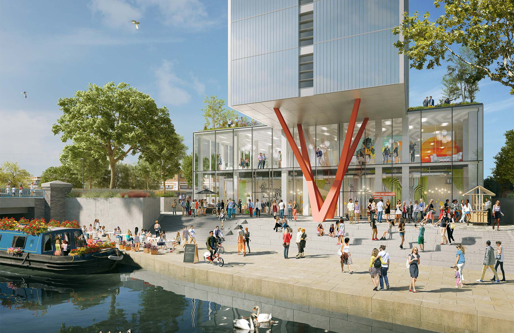 London S Old Oak To Welcome World S Largest Co Living