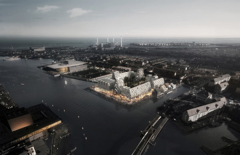 Copenhagen's Paper Island to be turned into a creative hub by COBE