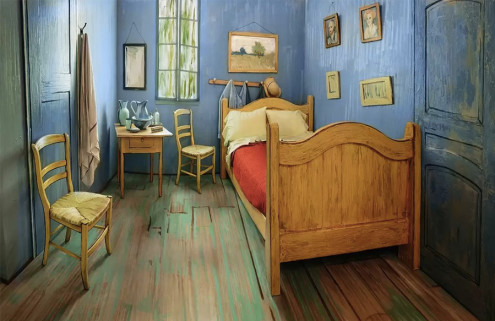 Stay in a Vincent Van Gogh painting via Airbnb