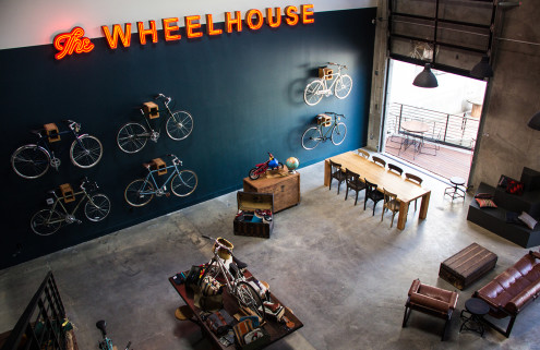 Downtown LA's Arts District gets a new one-stop coffee and bicycle store