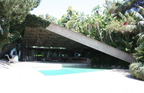 John Lautner-designed home gifted to LACMA by billionaire basketball fan