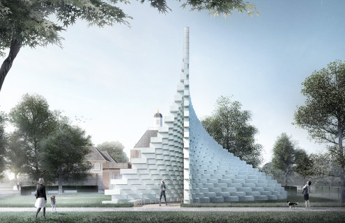 Designs revealed for BIG's Serpentine Pavilion and four summer houses