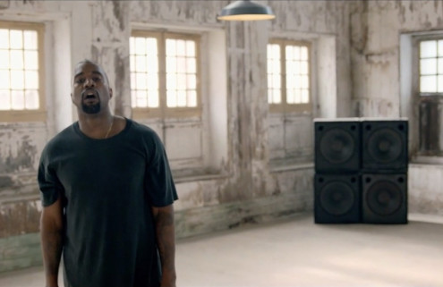 Watch Kanye West romp around Kent's Historic Dockyard Chatham in 'All Day / I Feel Like That'