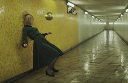 Massive Attack drags Rosamund Pike around London's Joe Strummer Subway in new video