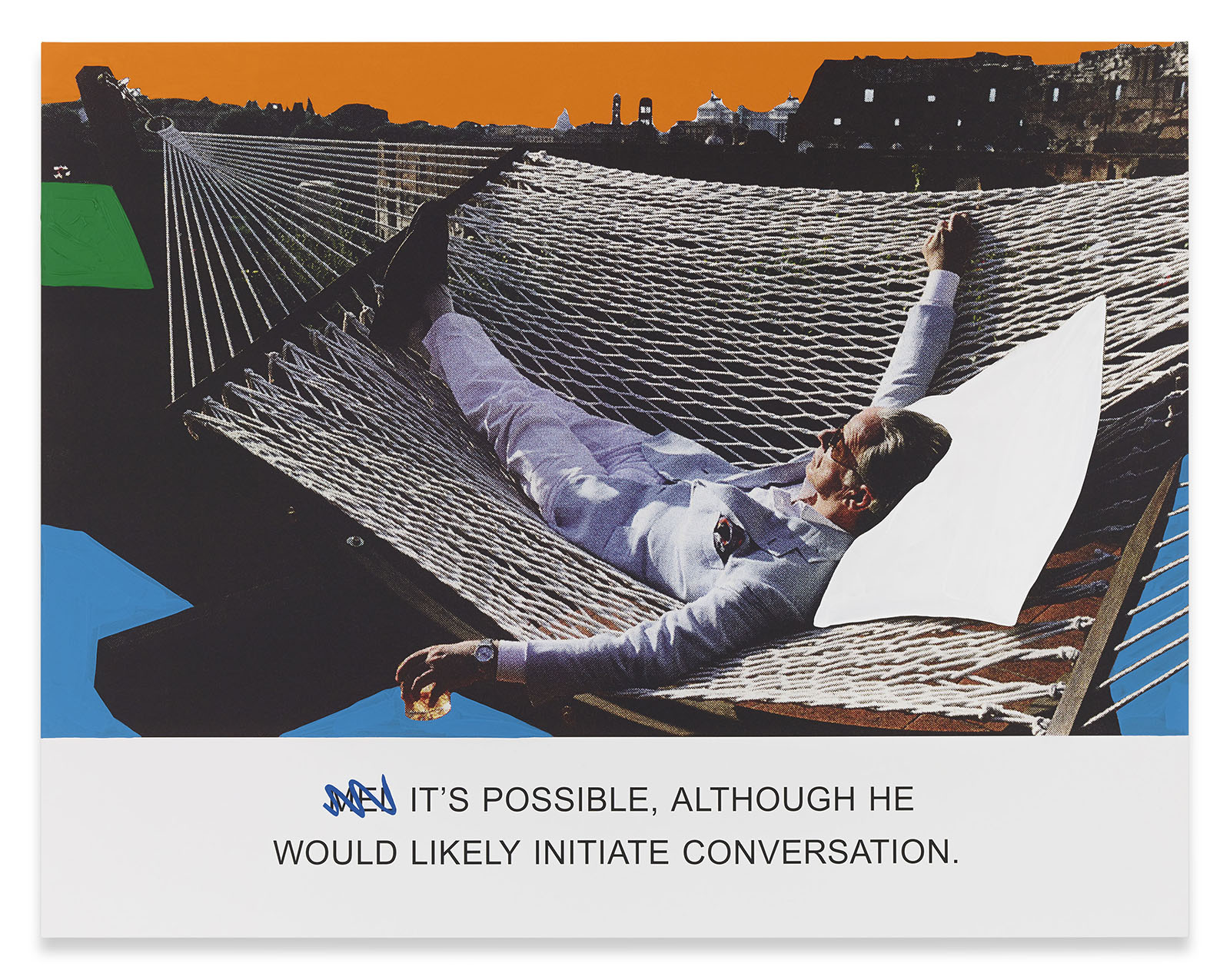 It's Possible, Although..., 2015 (c) John Baldessari Courtesy the artist, Marian Goodman Gallery and Sprüth Magers Photography: Joshua White, 2015