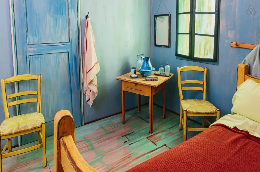 Van Gogh Airbnb Bedroom 3
