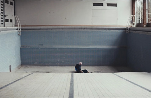 London band Vaults takes over an abandoned school for 'Midnight River' music video