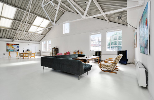 Property of the week: a London loft carved from the shell of a metal box factory