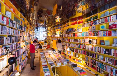 Selgascano designs the 'no-phone' Libreria bookstore in London for Second Home