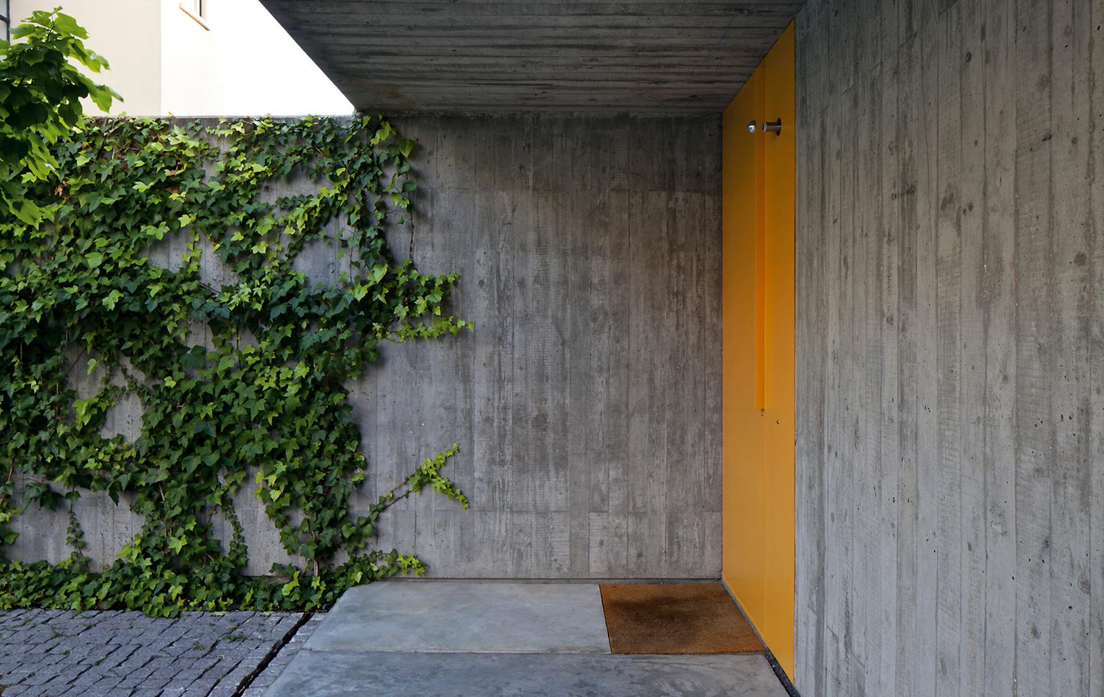 yellow door exterior