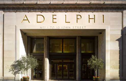 London's Art Deco Adelphi Building is restored to its former glory