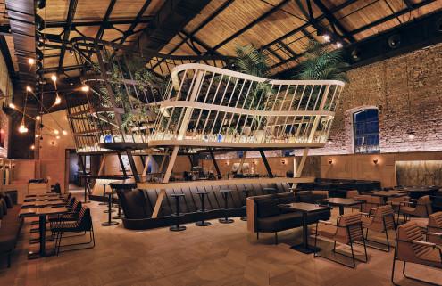 Autoban designs new Kilimanjaro restaurant within Istanbul's Bomonti Historic Brewery