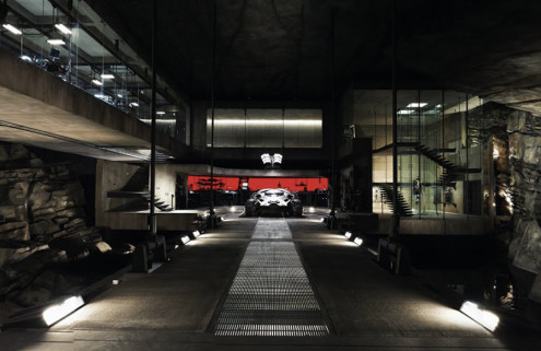Peer into Batman's Modernist lair on Google Maps