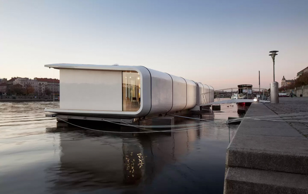 4 floating holiday homes to rent this summer the spaces - Floating prefabricated home ...
