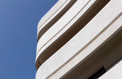 Rik Moran photographs Tel Aviv's Bauhaus architecture