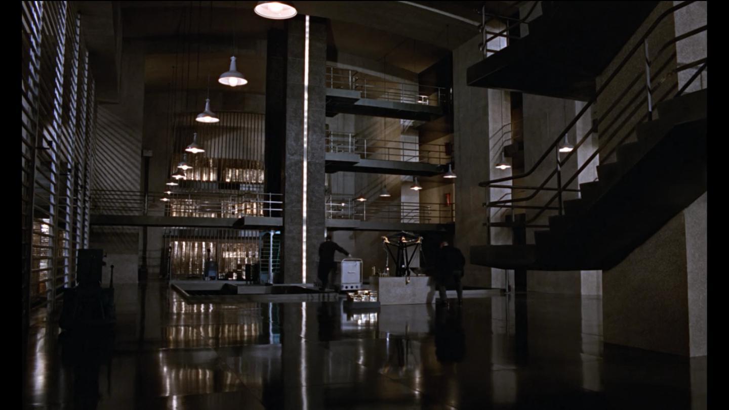 Fort Knox Interior goldfinger ken adams