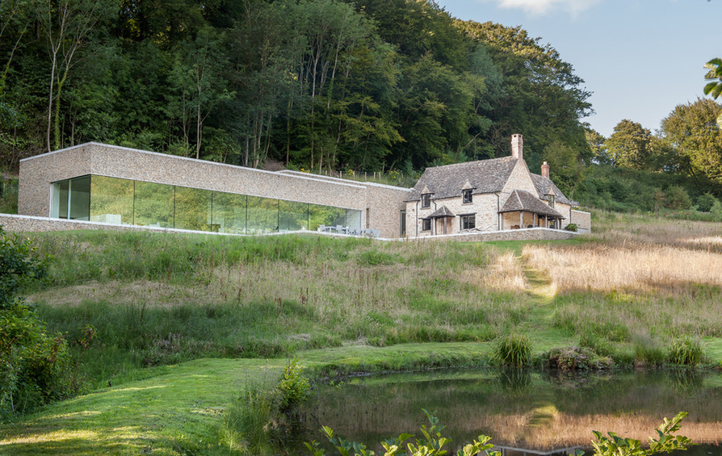 Architect Richard Found Carves His Home Into The Cotswold Landscape