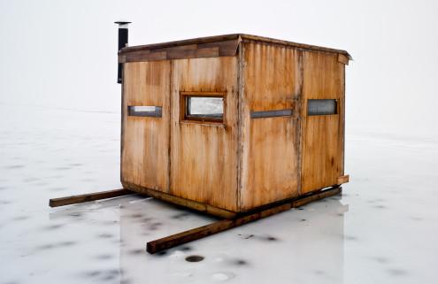 Mike Rebholz ice fishing series