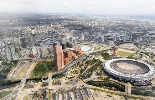 New images revealed for Olympicopolis arts hub in east London