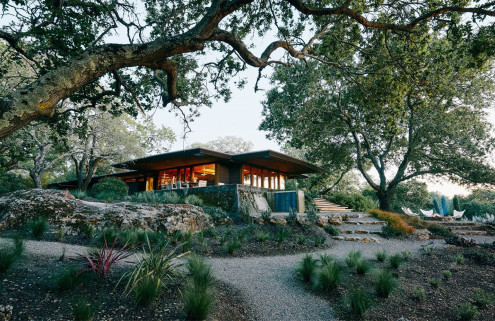 A petal-shaped midcentury home by architect Walter Thomas Brooks goes on sale