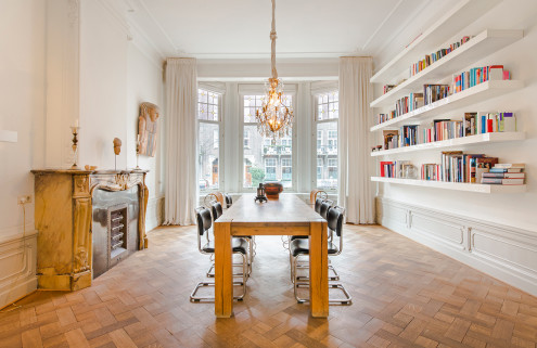 Property of the week: an Amsterdam townhouse where old meets new