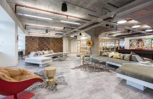 Studiofibre designs bricks and mortar HQs for digital fashion retailer Farfetch