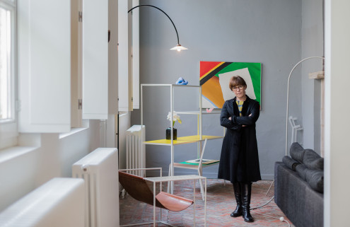How I live: gallerist Veerle Wenes