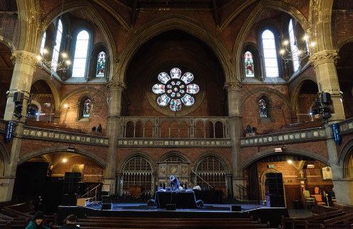 Sonic spaces: William Basinski on the acoustic charm of London's Neo-Gothic Union Chapel