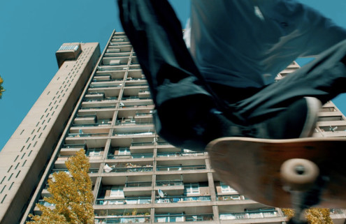 Tour the Brutalist Trellick Tower with skateboarder Nick Jensen