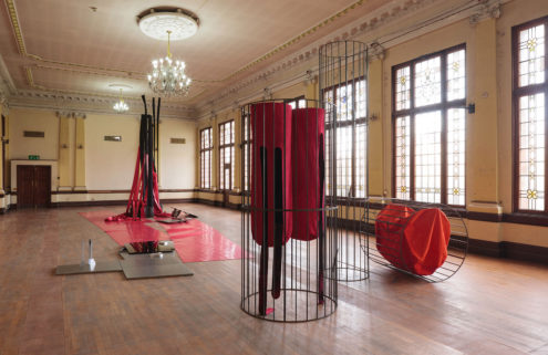 Artist Claire Barclay brings Glasgow's derelict Kelvin Hall to life