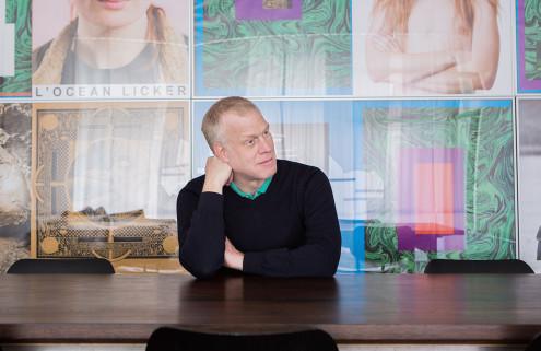 Art Cologne director, Daniel Hug's home