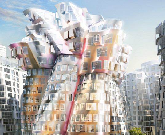 Gehry Flower Building