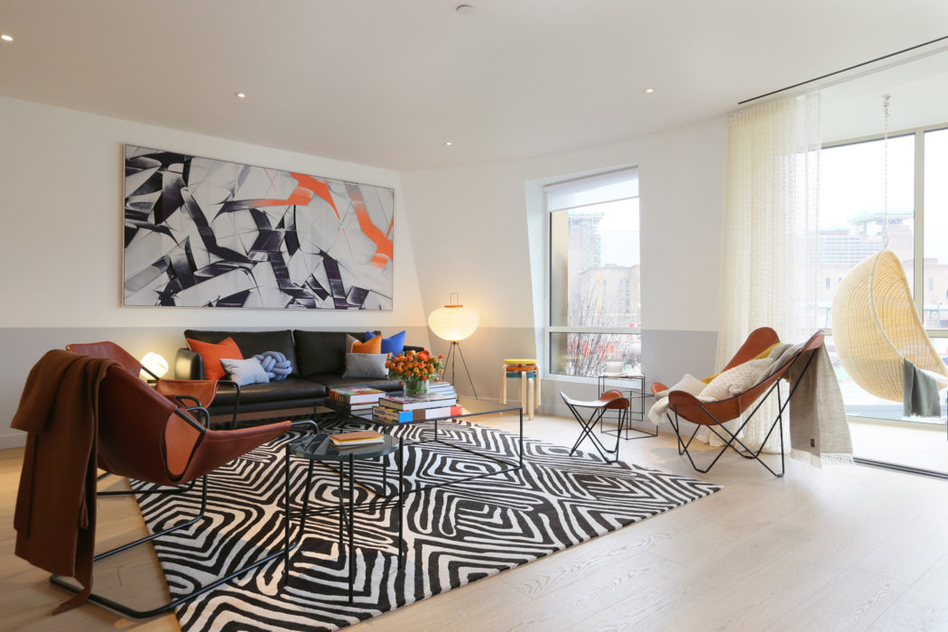 Images Revealed For Frank Gehry S Battersea Station Show Apartment