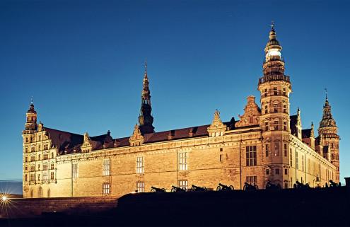 Hamlet's castle is hosting one big sleepover party