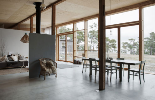 Property of the week: a converted garage on the island of Gotland, Sweden