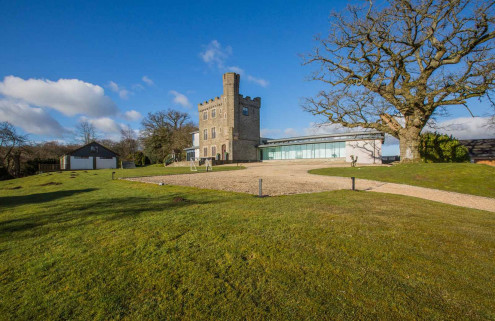 A former folly is on sale for £1.795m in Wales