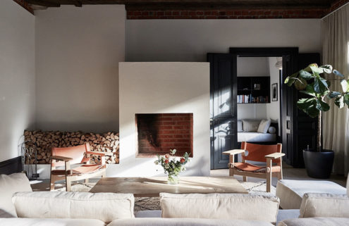 Property of the week: a Swedish fashion designer's former attic home