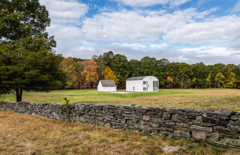 A Modernist barn in Connecticut is on the market for $1.1 million