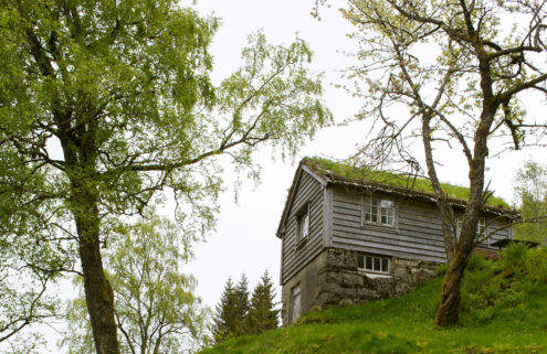 Inside the lakeside cabin that became Norwegian painter Nikolai Astrup's muse
