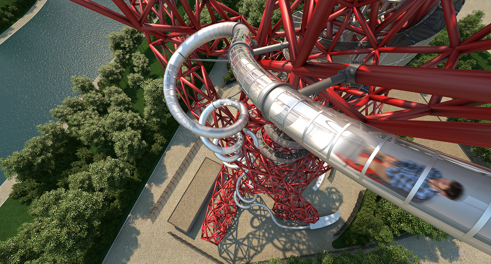 The Slide at ArcelorMittal Orbit Tower
